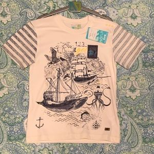 Noruk.. Boy's Size 6 Tee Shirt (BNWT) Super Cute!